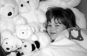 Em and Teddy Bears