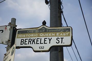 Berkeley St Sign